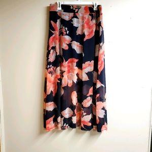 INC International Concepts Floral Skirt